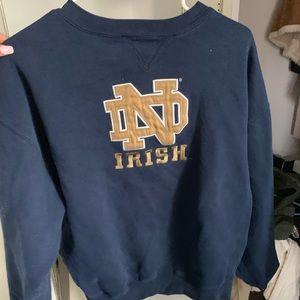 Vintage men's medium Norte Dame pullover
